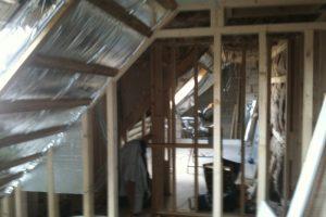 2 bedrooms with shower suite in dormer