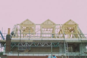 3 pitched roof dormers