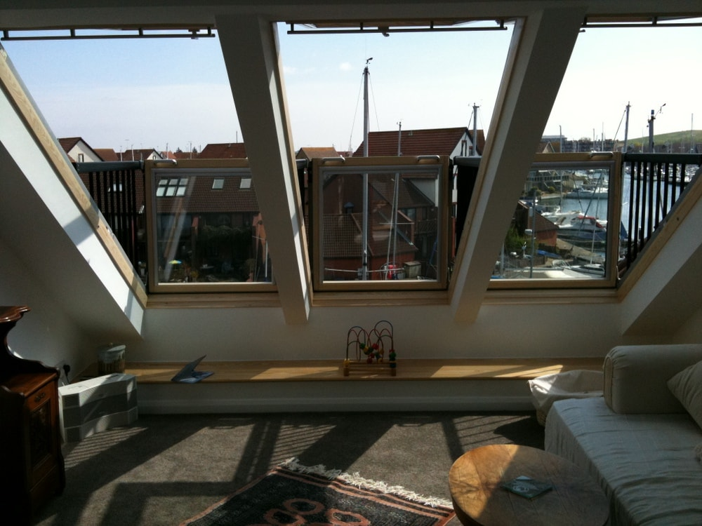 Velux cabrio balcony to loft conversion in. Portsmouth