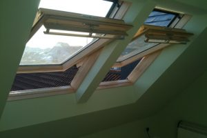 Duo Velux windows to loft conversion in Portsmouth