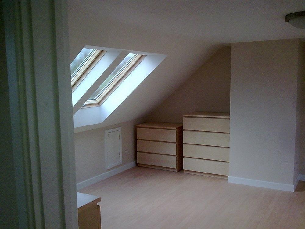 Velux windows to bungalow rear elevation loft conversion
