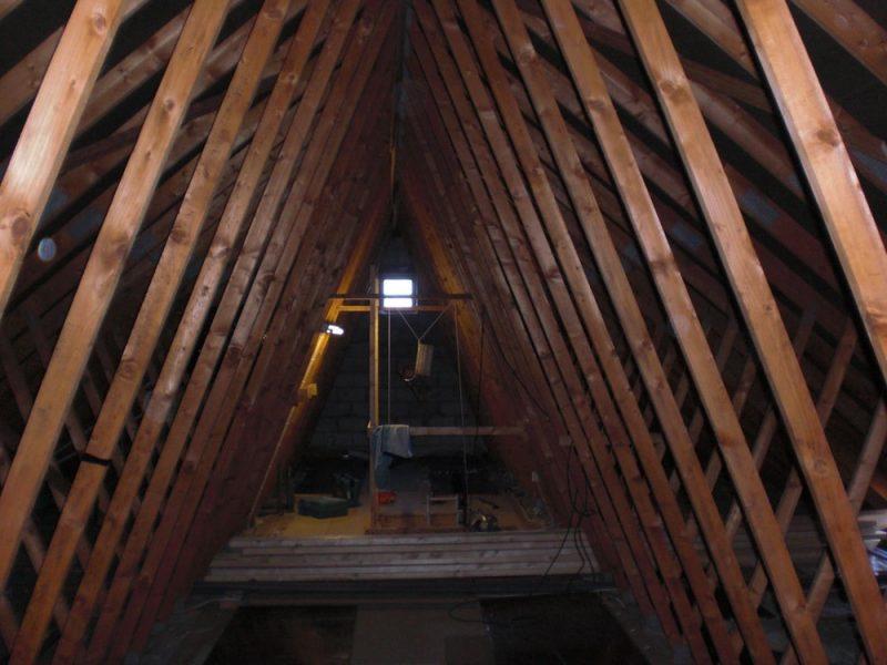 loft conversion to a detached bungalow