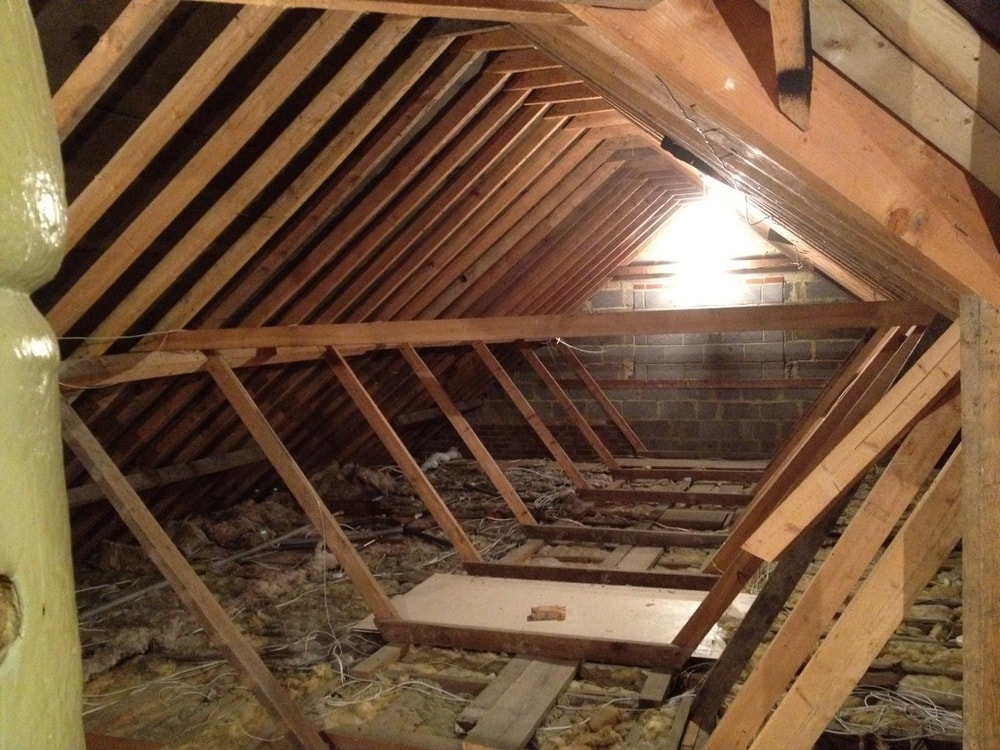 Loft Conversion day 1