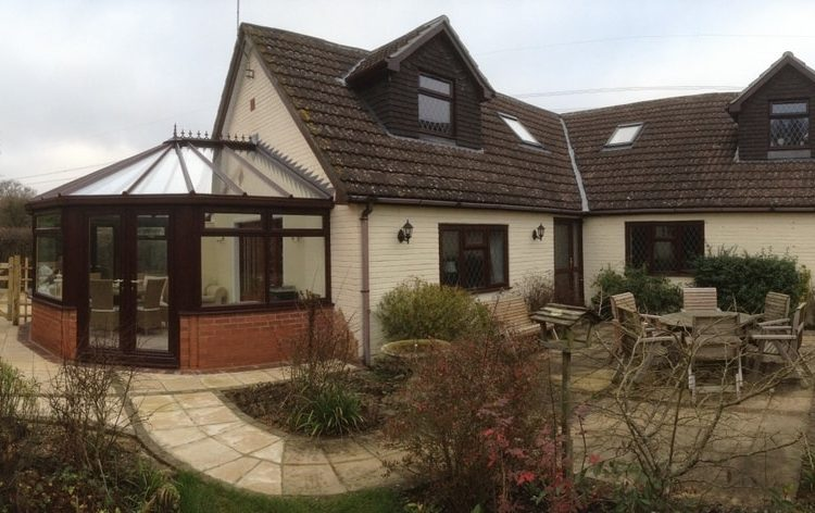 a loft conversion and conservatory to a bungalow