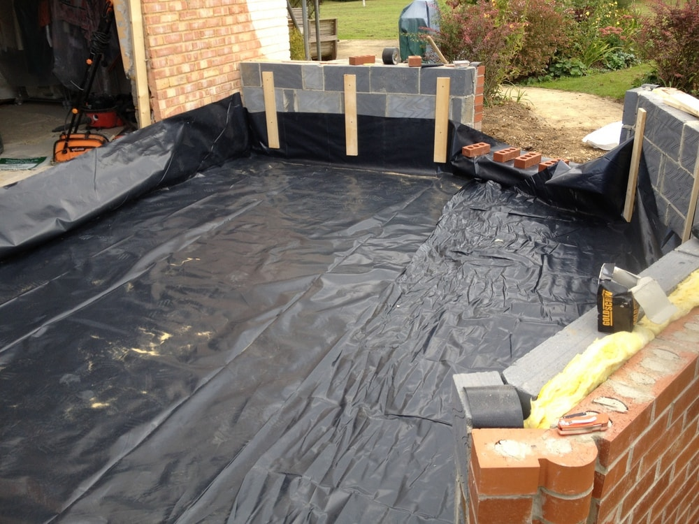 conservatory damp membrane