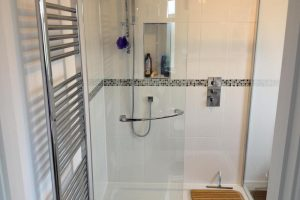 en-suite shower room loft conversion in Drayton, Portsmouth