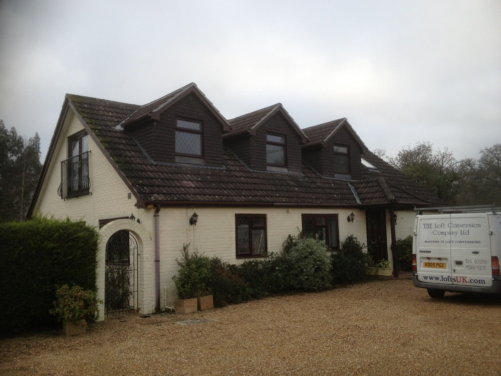 Loft conversion completed to a very high standard