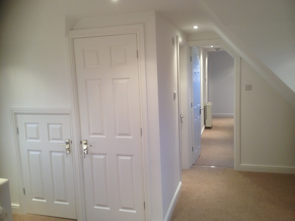 hall way to a bungalow after loft conversion