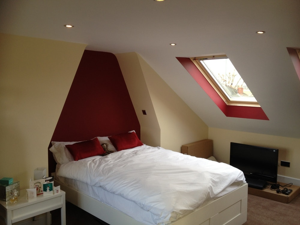 Completed loft conversion in Portsmouth.