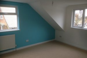 3 bedrooms added to loft conversion