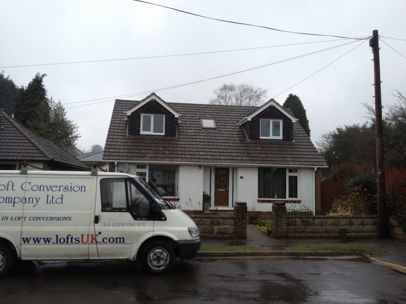 Information loft conversion to a detached bungalow