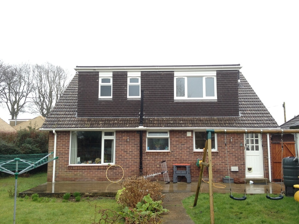 Detached Dormer Bungalow For 9: A Loft Conversion To A Bungalow In The Portsmouth Area