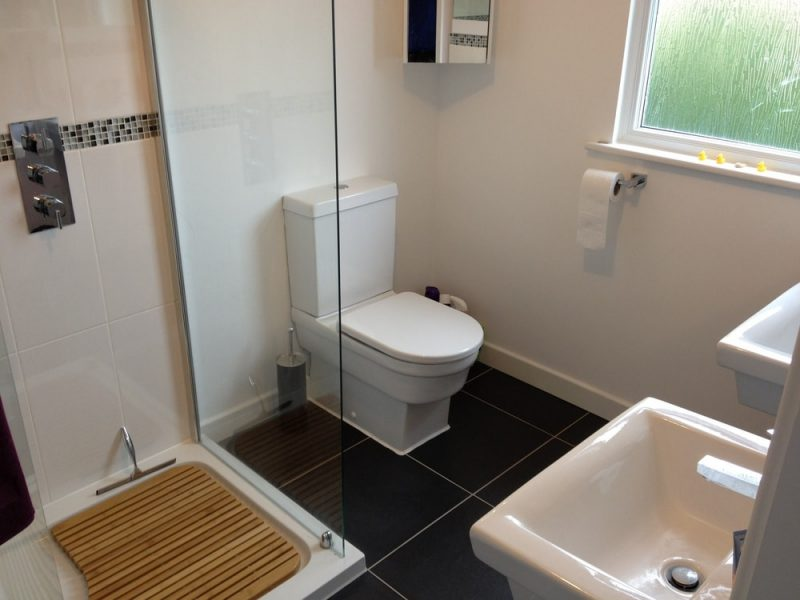 En-suite shower room to a loft conversion in Portsmouth