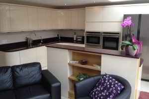 Kitchen to a rear extension in Drayton, Portsmouth