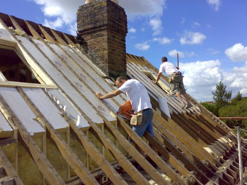 stripping roof loft conversion