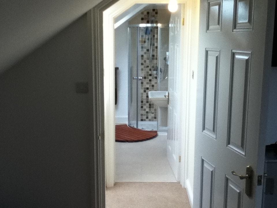 shower room suite loft conversion