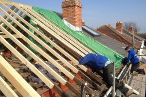 semi detached house loft conversion gable wall