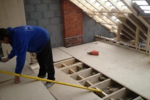 flooring to a loft conversion