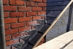 lead work around chimney for a loft conversion