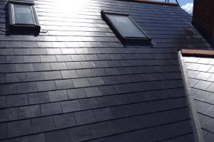 Velux windows to front elevation loft conversion