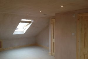 loft conversion complete ready for decorating