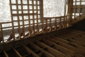 floor joists and dormer loft conversion