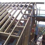 Loft Conversion gable wall construction