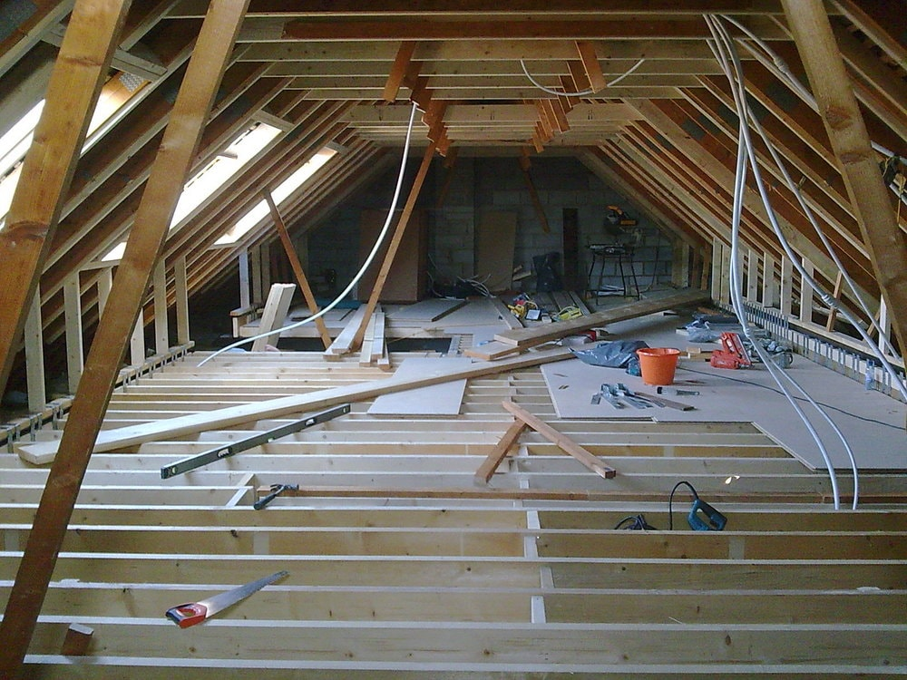 bungalow loft conversion structure