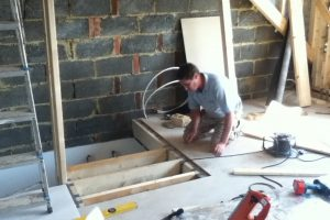 staircase loft conversion in Portsmouth