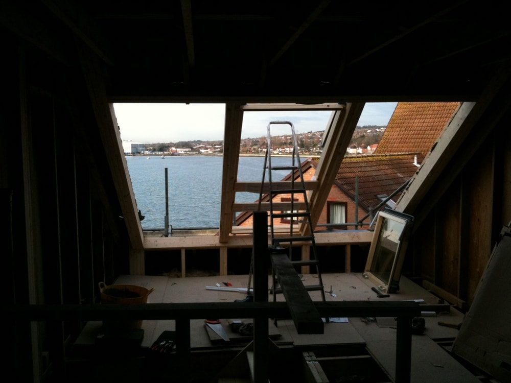 Loft Conversion In Port Solent Portsmouth Velux Cabrio