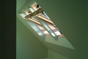 Velux windows coupled together