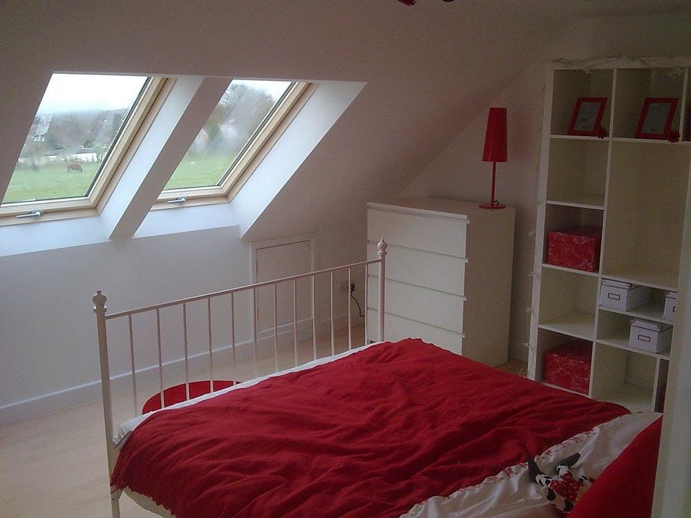 loft conversion with Velux windows