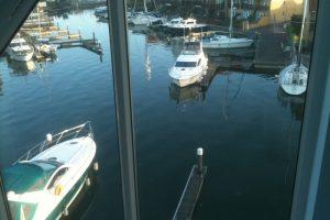 Views across the harbour