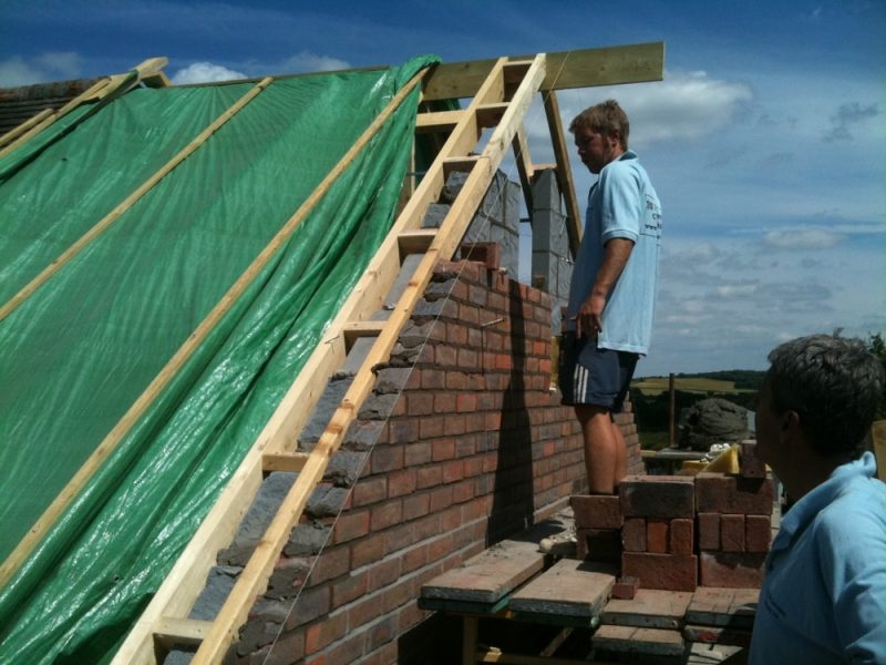 loft conversion gable wall