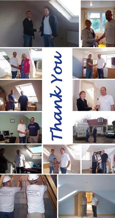 testimonials from satisfied customers on Checkatrade by The Loft Conversion Company (Portsmouth) Ltd