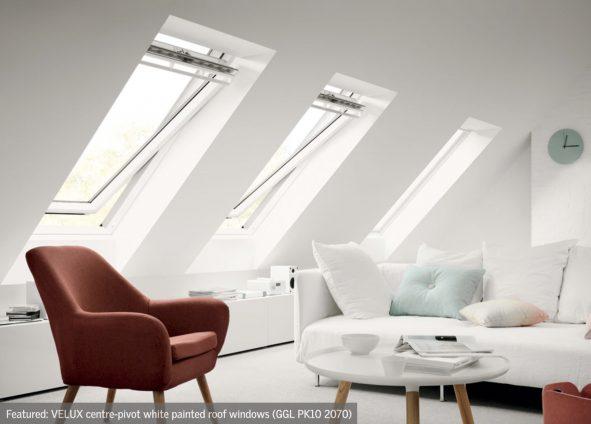 Veluix Centre Pivot Window for loft conversion
