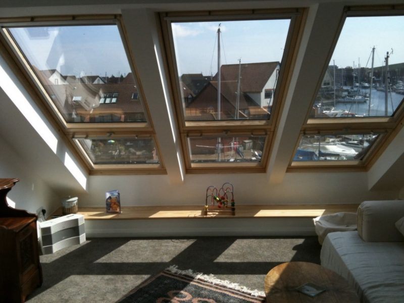 Velux cabrio balcony to a loft conversion