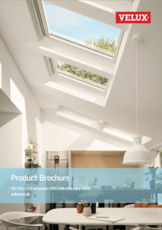 1 Velux Brochure 2018 loft conversion