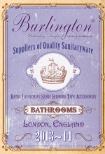 Burlington Sanitaryware for your loft conversion.
