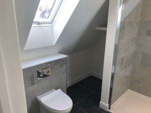 Cousins Grove, Southsea, Loft Conversion En-Suite Shower