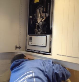 THE Loft Conversion Company Ltd Installation of Combination Boiler