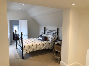 The refurnished old bedroom to a loft conversion in Cousins Grove, Southsea
