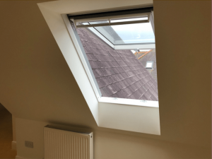 Velux window to a loft conversion in Cousins Grove, Southsea