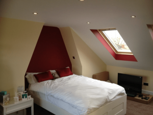 Portsmouth loft conversions front Velux window