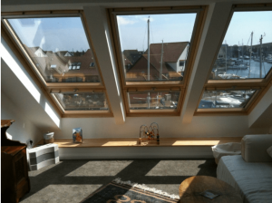 Velux Cabrio balcony system to a loft conversion in Port Solent