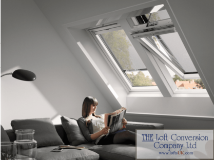 Velux awnings to loft conversions example.