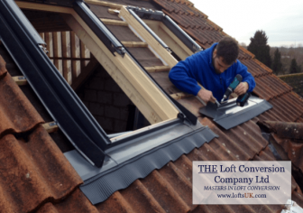 Installation of Velux windows The Loft Conversion Company (Portsmouth) Ltd