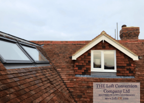 front elevation pitched roof dormer to a loft conversion in Portsmouth
