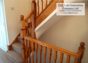 Staircase for a loft conversion Portsmouth 13