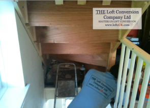 Staircase for a loft conversion Portsmouth 2